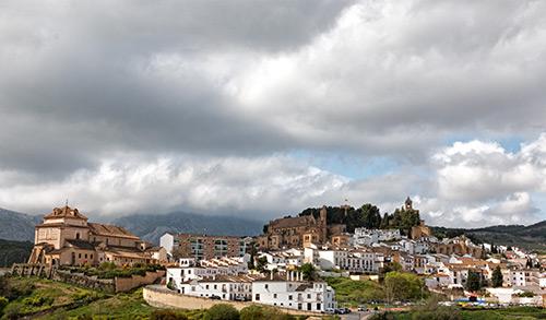 Antequera - Blick Richtung Festungshügel