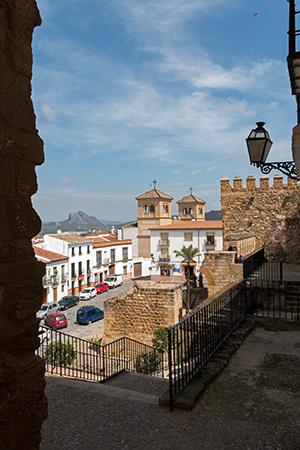 Vor der alten Stadtmauer