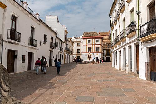 Plaza del Potro von der Gegenseite