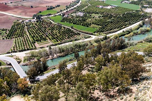Blick ins Tal des Guadalete