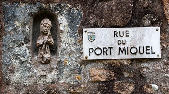 Port Michel: Schutzheiliger