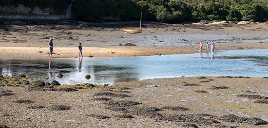 Pêche à pied und angeln - viele Bretonen tun's